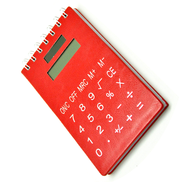 Customised 8 Digit Calculator with Notebook, Diary with Calculator, Notebook Calculator