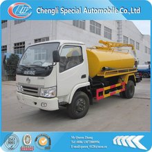 5000L dongfeng small vacuum sucker truck