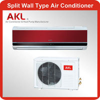 Energy saving 9000 btu wall split air conditioner hot and cold