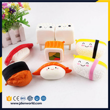 New products chinese supplier sushi sets christmas toy food squishy