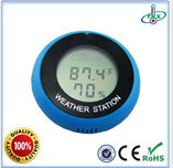 TL8040 Small Lcd Digital Hygrometer Weather Station Round Thermometer