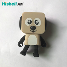 Mini Music Speaker Wireless Speaker Small Square Dog Round Mini Speaker