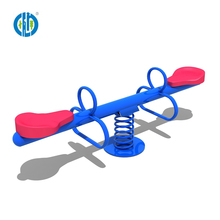 Hot selling eco-frirendly style kids kindergarten playground seesaw