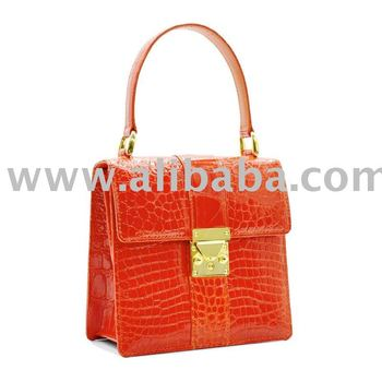 Genuine Alligator Skin Handbag