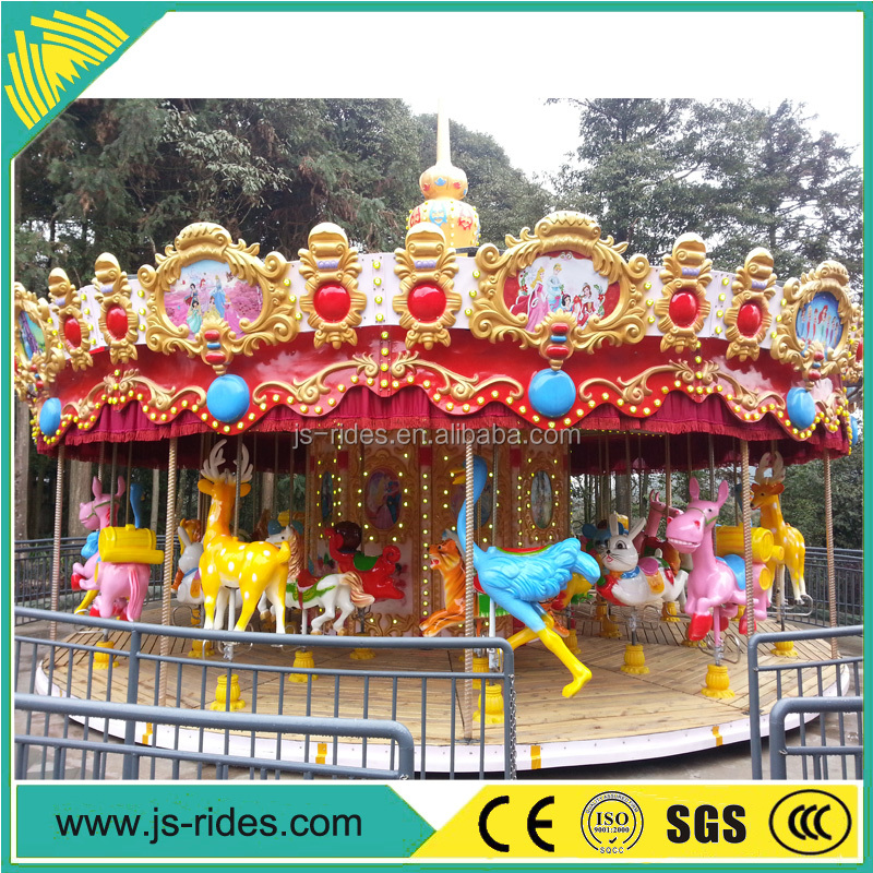 Chinese supplier amusement rides carousel snow globe