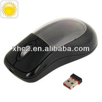 Solar Power Wireless Mouse, Built-in Rechargeable Cell