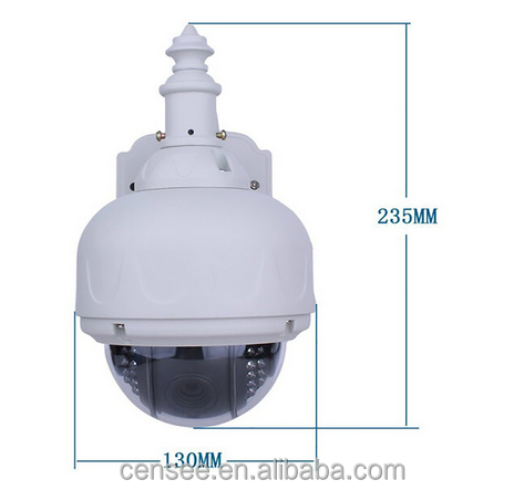 Alibaba wholesale 2.0MP auto tracking surveillance camera ce rohs cctv pan tilt motor ptz ip camera motor stepper dome camera