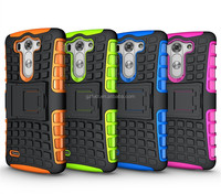 2014 Newfashioned Cover for LG G3 Vigor/Beat TPU+PC 2-in-1 armor case