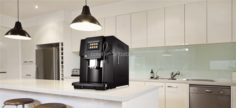 Ningbo Hawk One touch grind and brew coffee machines ABS coffee vending machine