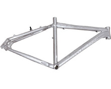China manufacture titanium bicycle frame for road bike