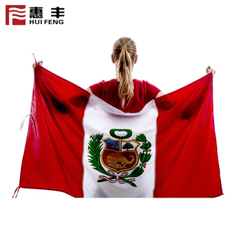 100 country 3x5ft bunting flag Peruvian flag for 2018 world cup