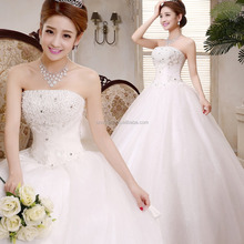 Z60575Y Korean Fashion Hot Sale Ladies Elegant Wedding Dresses