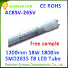 High quality T8 SMD2835 18w led t8 tube for home coffee roaster with CE ROHS