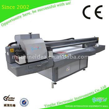 printing machine on metal