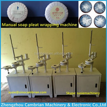 Soap packaging machine manual soap pleat wrapping machine with fast delivery
