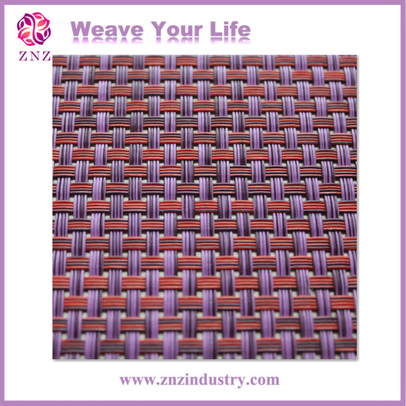 ZNZ Satisfied service promotion machine pvc coated polyester fabric woven fabric for outdoor furniture vinyl fabric chair cover