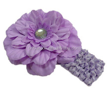 Multicolor Newborn Chiffon Flower Headband/Baby Headband