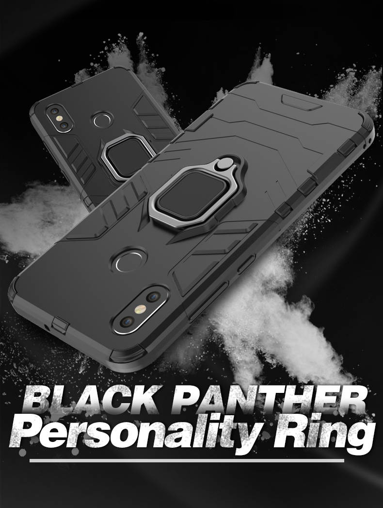 Magnetic Attraction finger ring bracket holder mobile phone case for xiaomi mi 8,for mi 8 back cover