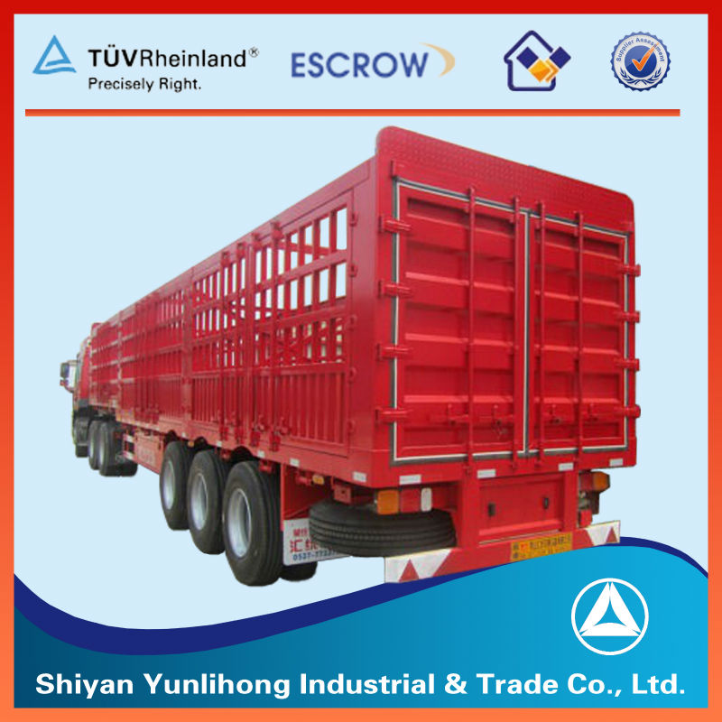 Heavy Animal Transport Stake Semi Trailers truck