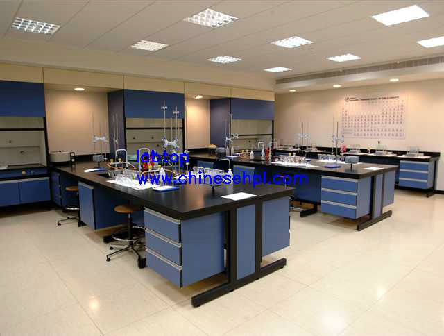 lab furniture compact laminate board chemical resistant countertop