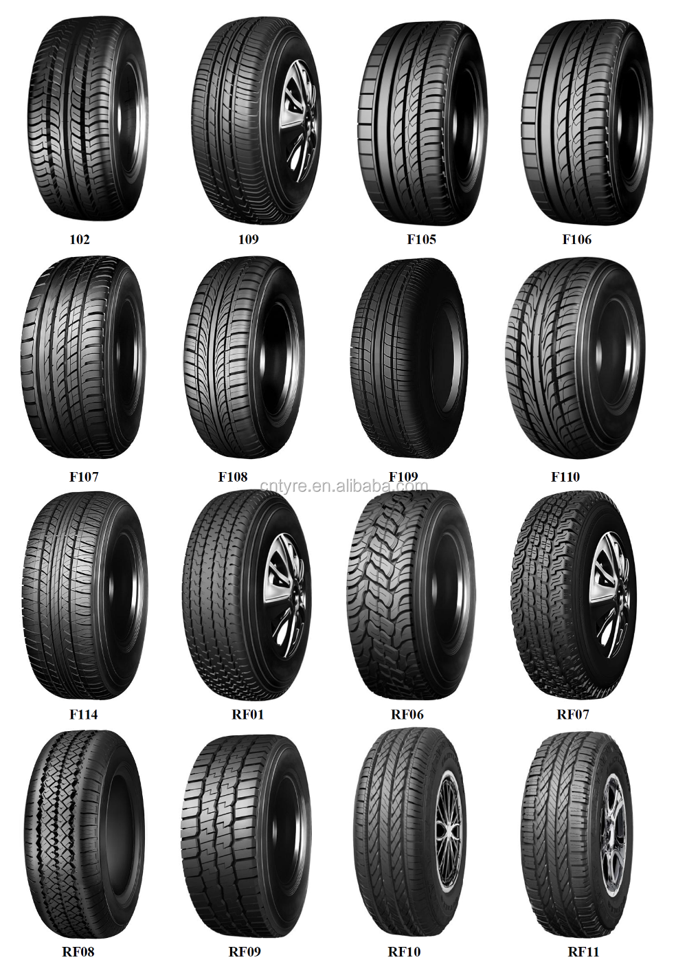 Cheap price PCR car tires for sale 195/60R15 from China tyre factory