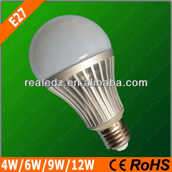NEW Products cheap and superior quality 4w,6w,9w,12W E27 led lamp