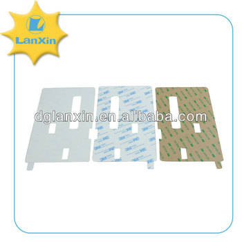 Double sided adhesive film sticker for electronic products