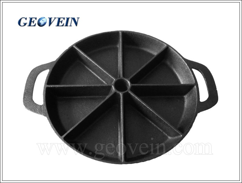 Hot Sale Iron Brownie Pan Bakeware Cast Iron Bakeware for Cake Maker