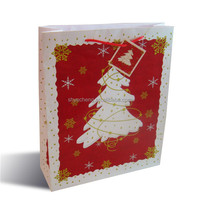 hot sales oem production promotional wholesales christmas gift paper bag factory