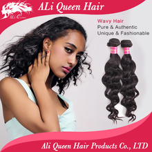 Ali Queen Hair Products natural wave unprocessed wholesale virgin brazilian hair