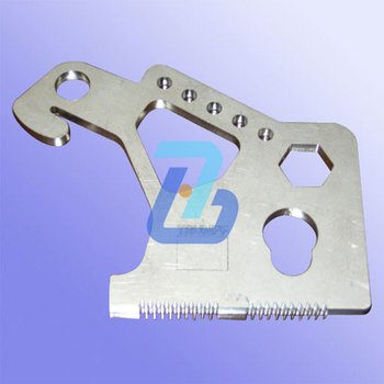 Steel plate cutting service parts in Hangzhou factory
