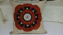 Flower outdoor wooden sofa seat cushion