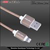 New design high quality nylon braided cable 3.0 USB Style MFI charging USB cable mfi for Iphone ipad