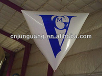 2017 inflatable triangle helium balloon