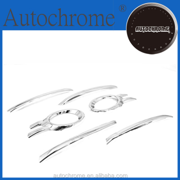 Professional car accessory chrome fog light trim & grille cover trimming for Audi Q5