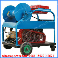 24HP gasoline petrol engine high pressure sewer drain water jet cleaner