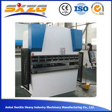 New condition WC67Y 40T/1600 hydraulic manual aluminum sheet plate press brake