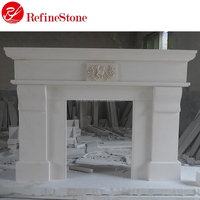 factory wholesale cheap luxury marble fireplace mantel
