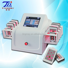 wholesale lipo laser fat burning machine/ 8 pads weight loss fat melting machine
