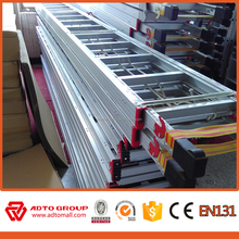 Fashion domestic Easy store Construction building aluminium ladders werner extension ladders