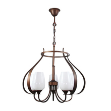New design elegent bronze antique chandelier pendent light