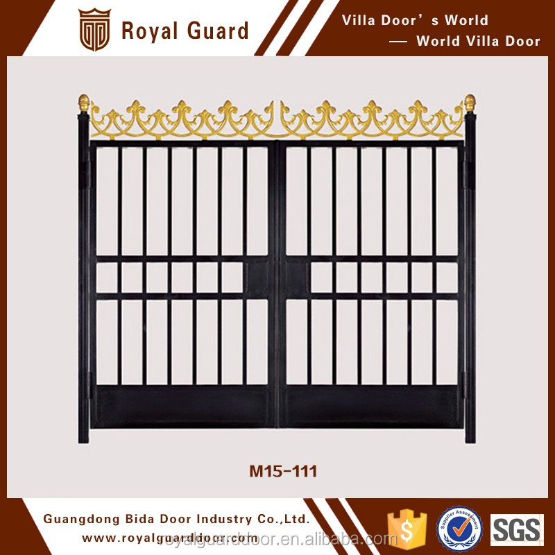 Main entrance gate design tubular/pipe gate designs