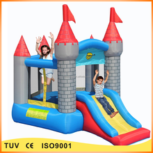 outdoor inflatable commercial bounce house with blower for kids
