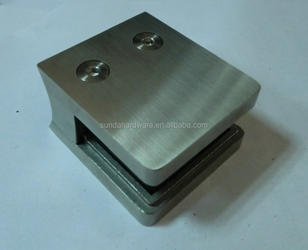 316 Stainless Steel Clamp For Frameless Glass Railing GC058-B