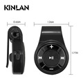 Kinlan hot selling 2017 amazon wireless audio receiver V4.1 car aux adapter stereo sound player