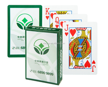 Latest arrival advertising square paper customized playing cards