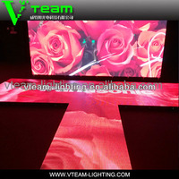 P10 amazing vivid display effect stage LED video floor for dancing
