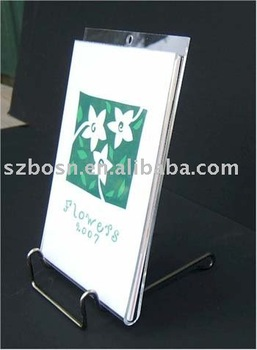 Acrylic Calendar Holder,Desktop Calendar Holder,Acrylic Calendar Display Holder