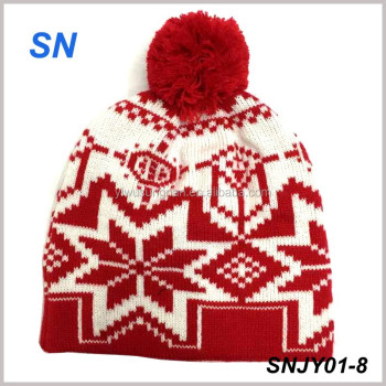 fashion Christmas beanie for promotion