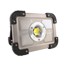 2018 hotcake 827 30W mini COB Led home outdoor battery operated portable work emergency rechargeable flood light for camping